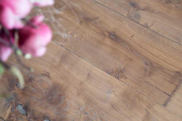 Waterschade houten vloer / parket